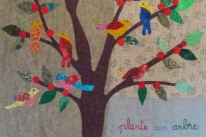 Des oiseaux dans le jardin...........