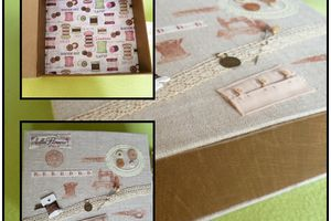 boite à couture cartonnage