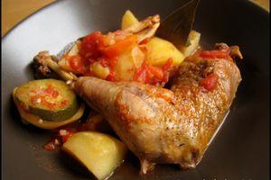 Mijoté de poulet aux légumes (au mijot'cook)