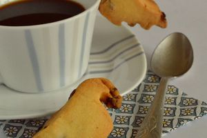 Biscuits de tasses aux cramberries