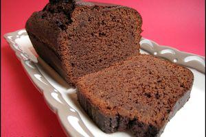 Cake au chocolat et au caramel