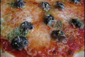 Pizza aux escargots