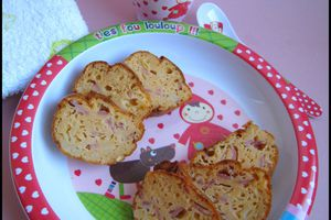 Cake coquillettes jambon