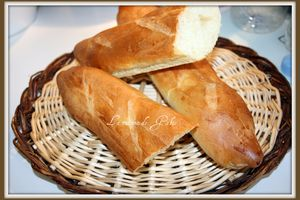 Baguettes viennoises (thermomix)