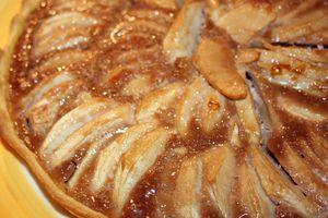 Tarte aux pommes et carambar