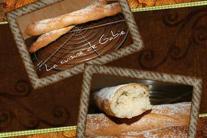 Baguettes au fromage blanc
