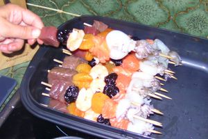 Brochettes de pirates (poisson)