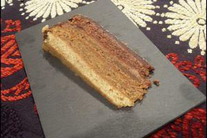 Sponge Cake chocolat caramel