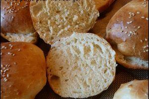 Petits pains pour burgers, les buns parfaits