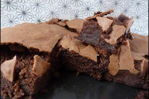 Full cholestérol, gâteau au chocolat fondant