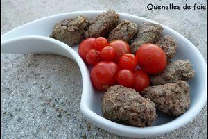 Lawerknepfla, Lewerknepfles ou quenelles de foie à l'alsacienne