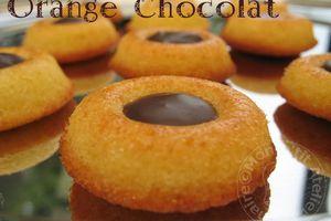 Savarins Orange-Chocolat