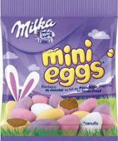 Les nouveau mini-œufs au chocolat de Milka pour Pâques