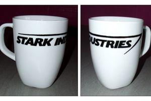 Mug Stark Industries d'après Iron Man