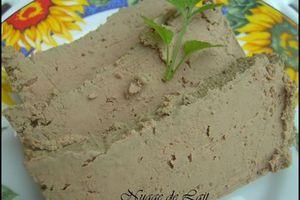 Pâté de Foies de Volailles (recette Weight-Wachers; ProPoint)
