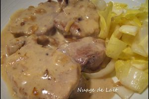 Filet Mignon au Maroilles (recette ProPoint Weight-Watchers)