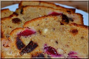 Cake Noisettes, Prunes et Figues Séchées