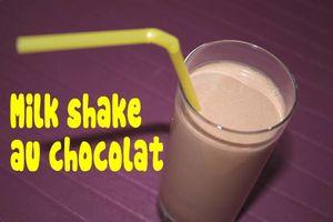 Milk Shake au chocolat
