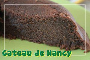 Gâteau de Nancy (recette Tupperware)