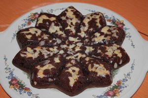 Brownies aux amandes effilées
