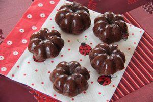 Petites charlottes fondantes au Nutella