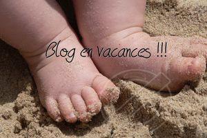 Blog en vacances !!!!