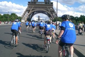 Course London to Paris pour Médecins du Monde