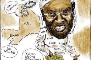 D. Traoré, un président coupé en deux !