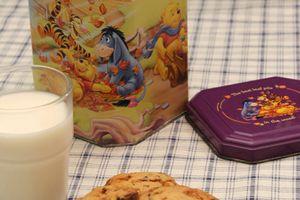 Cookies chocolat nougatine