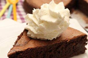 Gâteau au chocolat mousse