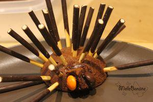Gâteaux hérissons pour Loulou sage (ou pas)