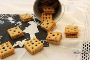 Biscuits dentelle au chocolat piment d'espelette