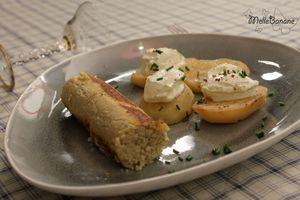 Boudin blanc de Mamina et pomme de terre fondante de Frédéric Anton