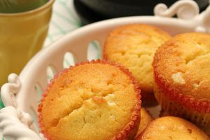Muffins aux 3 agrumes