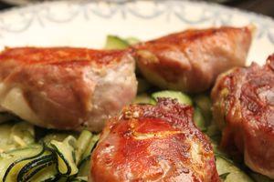 Mignon de porc feta et jambon façon Jamie Oliver