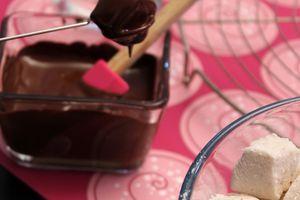 Guimauve au chocolat