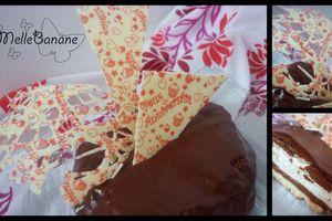 Le gâteau d'anniversaire de Miss Angèle