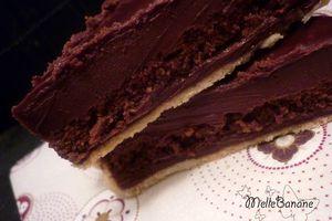 Tarte au chocolat façon Pierre Hermé