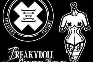 Logos FREAKYDOLL Corsetry Factory