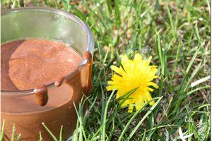 Mousse Chocolat Noir et Tahiné