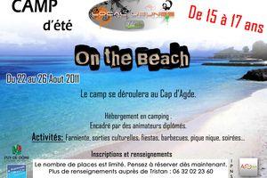 Camp d'été pour les 15-17 ans