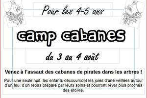 Camp Cabanes 4-5 ans
