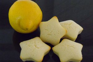 Financiers au citron