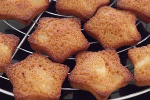 Financiers poire / caramel
