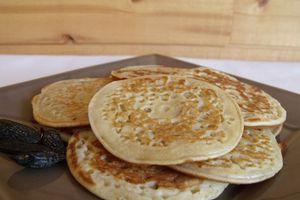 Pancakes à la fève tonka