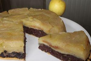 Tarte tatin pommes / boudin noir (un vrai délice !)