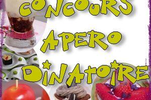 """Concours """"Apéro dinatoire"""""""