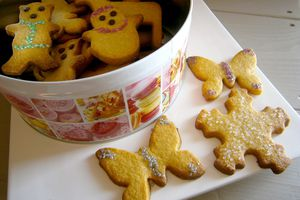 Biscuits à la vanille de Maëva