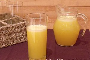 Jus de fruits (citron / orange)