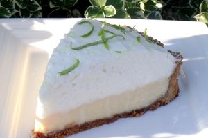 Key lime pie (tarte citron & sa mousse onctueuse) Mmmmh !!!